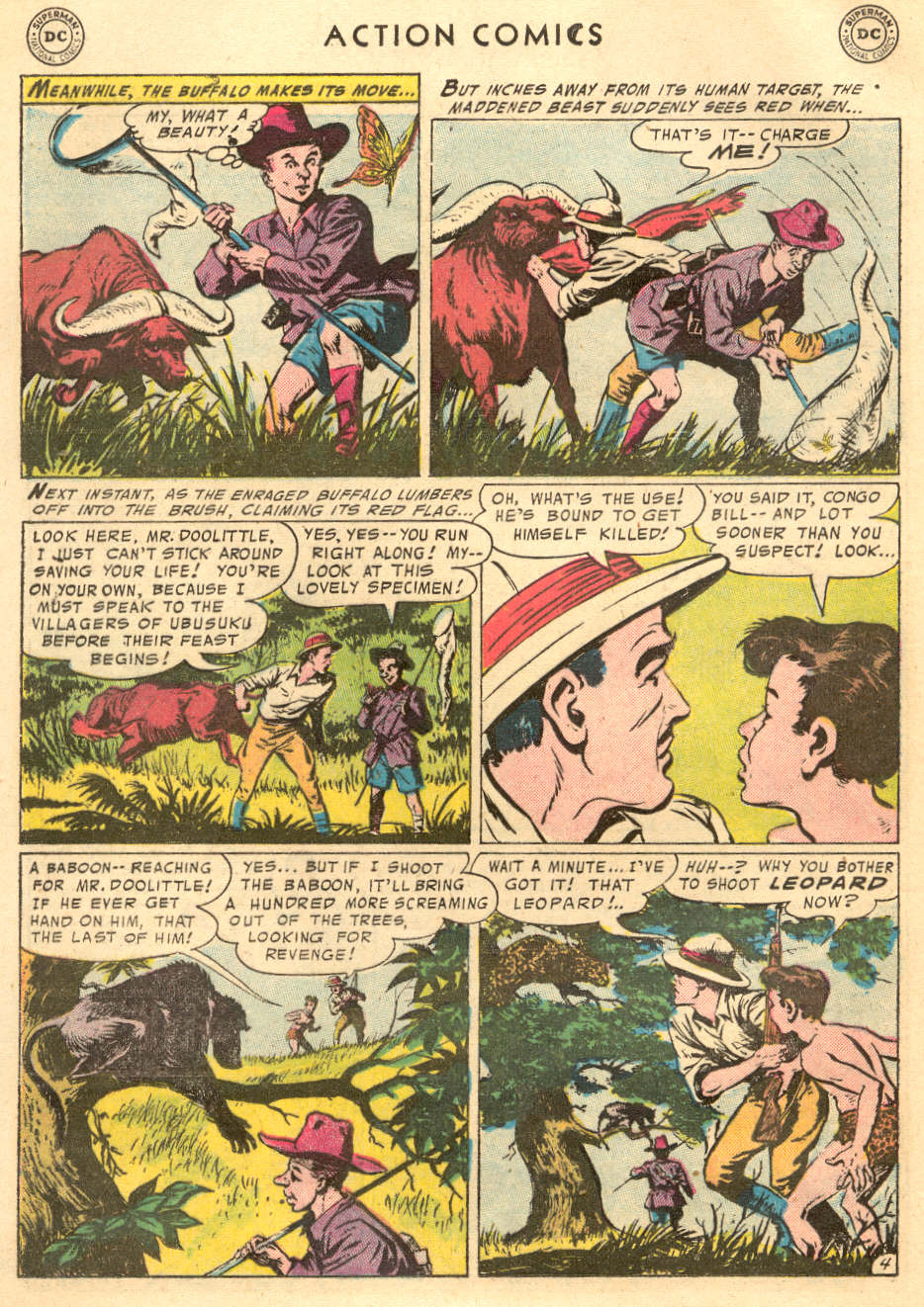 Read online Action Comics (1938) comic -  Issue #215 - 20