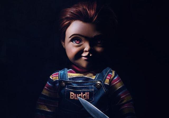 """Chucky traz uma grande faca no teaser trailer e pôster de """"Brinquedo Assassino"""""""