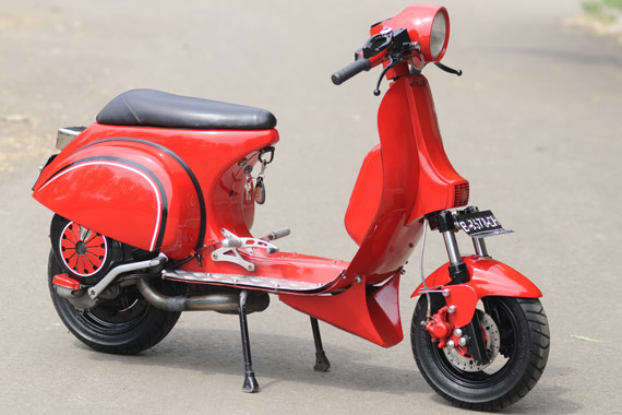 Vespa Scooter Modification Collections All About Photo