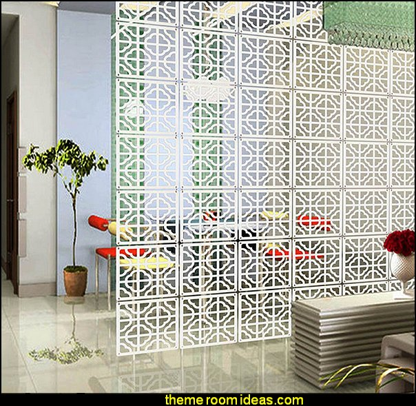 Hanging Screen Partition Room dividers - shared bedroom spaces - curtains