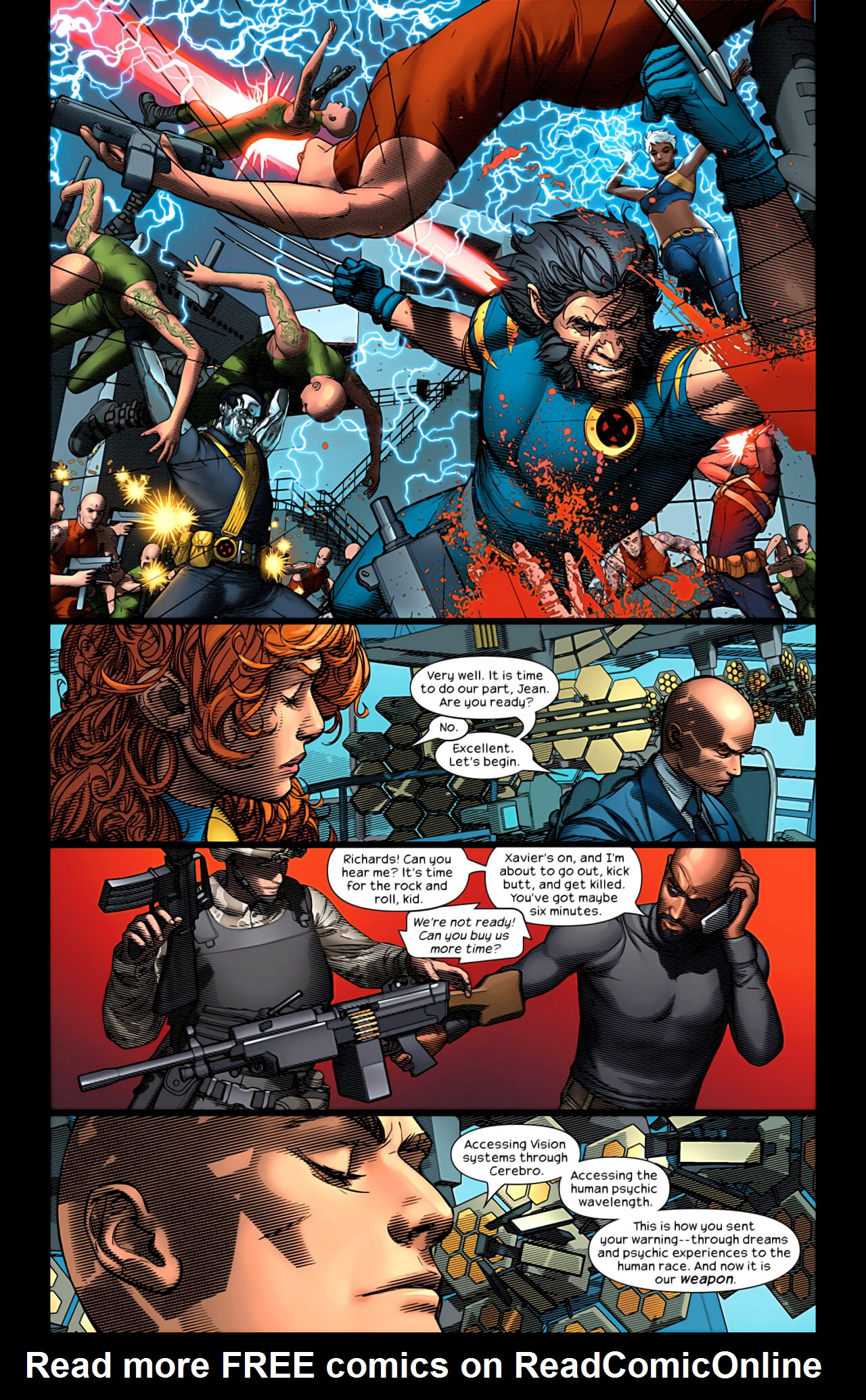 Read online Ultimate Extinction comic -  Issue #5 - 10