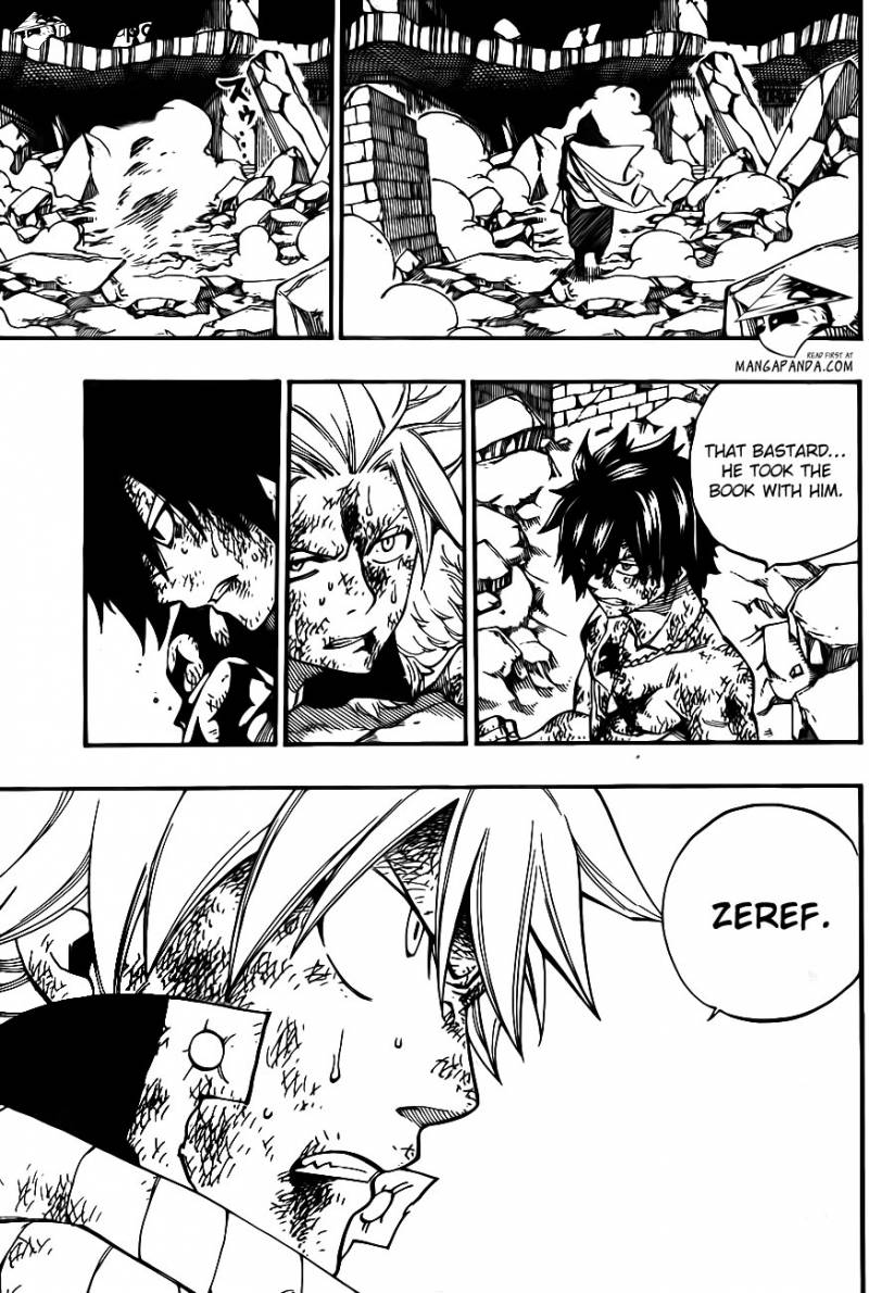 Fairy Tail Ch 414: Drops of flame