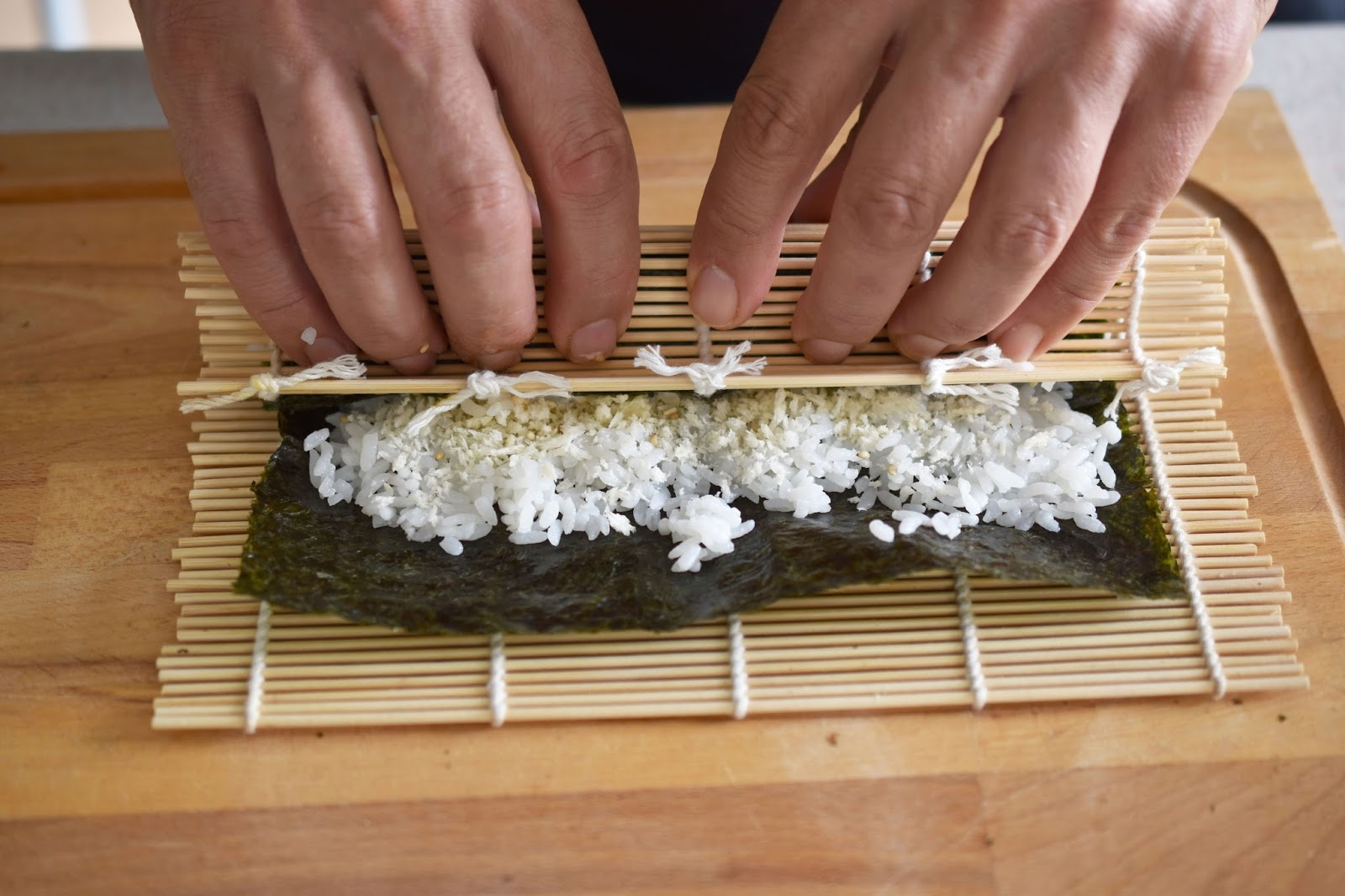 A Sushi Rolling Mat Makes Your Work Easier I Think The Secret To A  Successful Roll