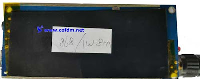 Long Range Portable Backpack COFDM Wireless digital Video audio 1W Transmitter