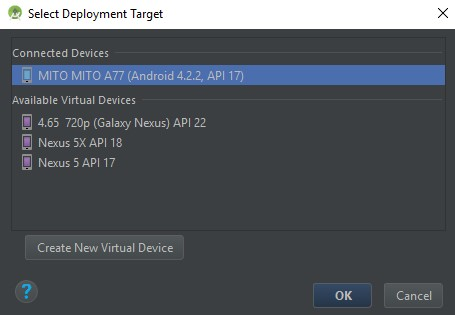 Run Project Menggunakan Perangkat Android