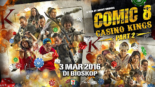 Film Comic 8 Casino Kings Part 2 (2016)