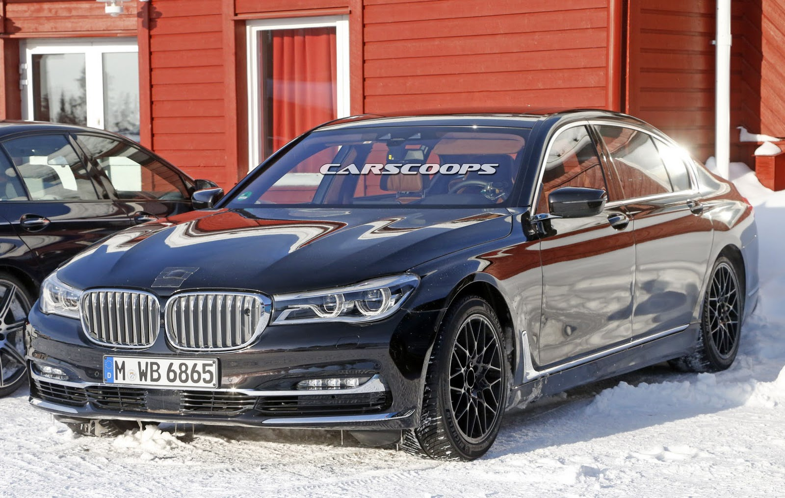 Is This A Mule For Bmw S M7 The 7 Series Centennial Or