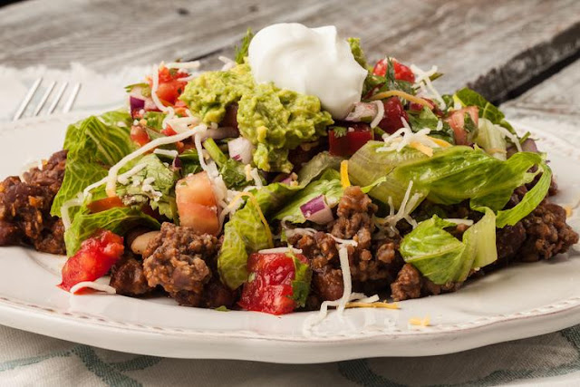 Clean Eating Taco Salad – Low Carb