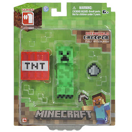 Minecraft Series 1 Creeper Overworld Figure