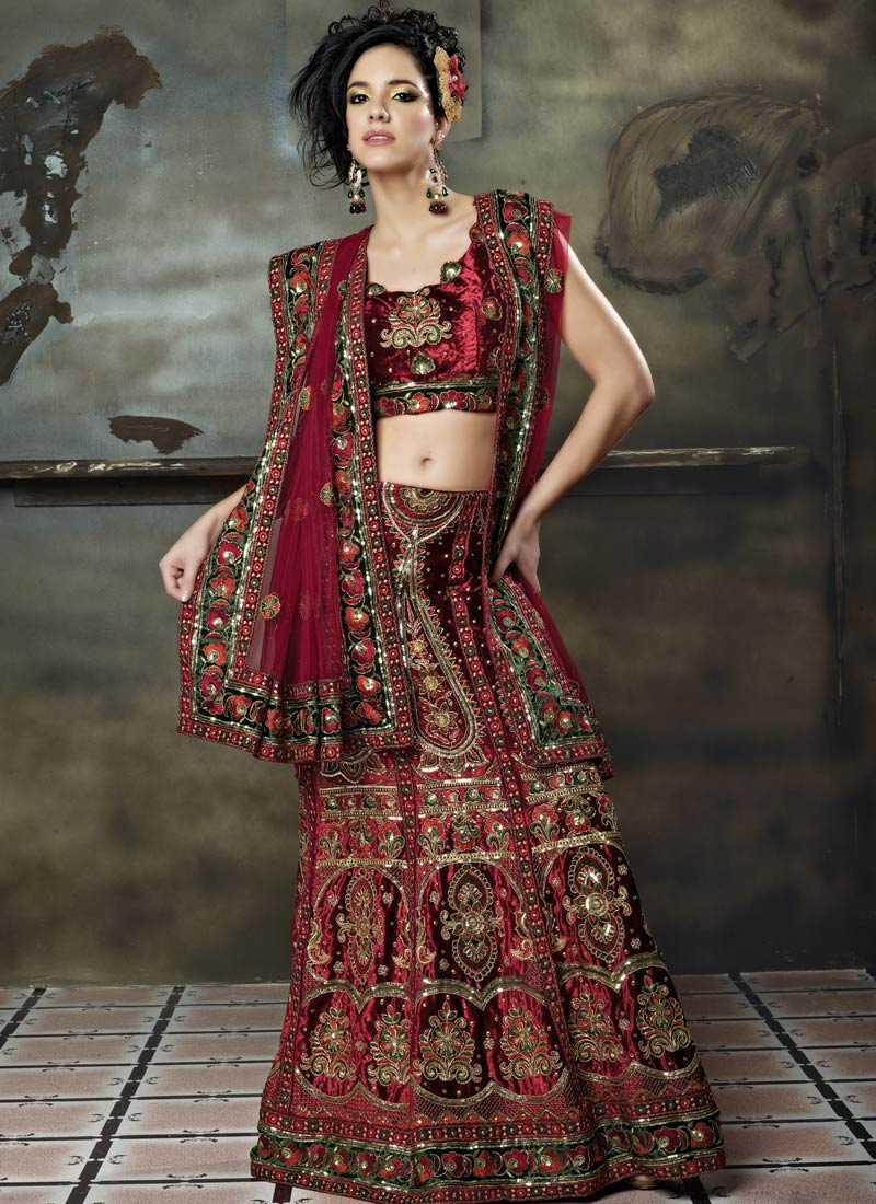 Only Women Secrets 10 Latest Lehenga Choli Designs