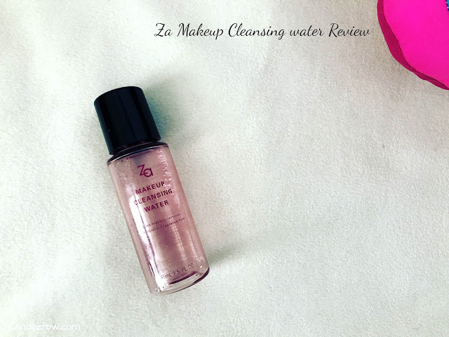 Za Makeup Cleansing Water Review