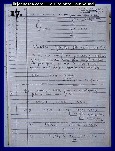 Coordinate Compound Notes2