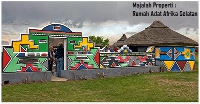 Desain Bentuk Rumah Adat Afrika Selatan dan Penjelasannya, Arsitektur dan Budaya