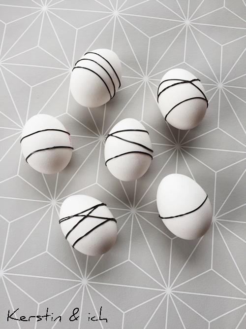 Ostern Gummis Farbe Eier