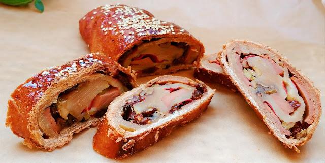 Receta de Navidad vegana: Pan de jamón vegano