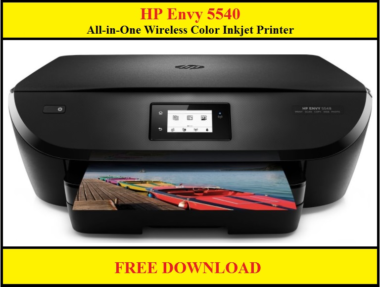 HP Envy 5540 Printer Drivers