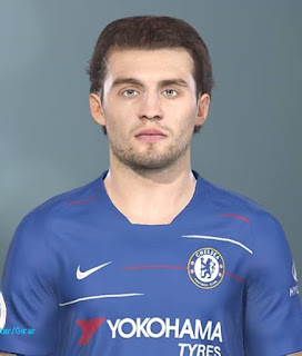 PES 2019 Faces Mateo Kovačić by Lucas Facemaker