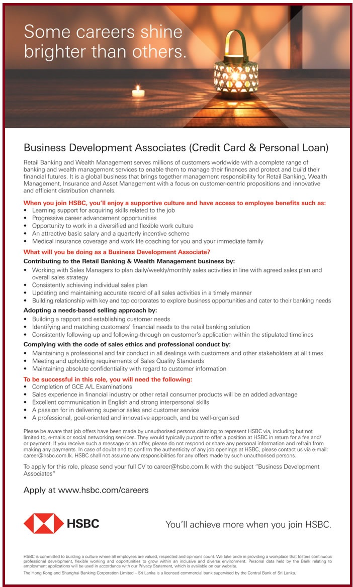 Business Development Associates Credit Card Amp Personal