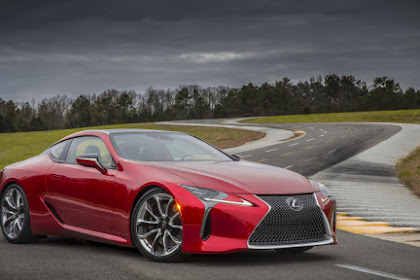 Lexus LC500 review: super-coupe tested in the United State !!!