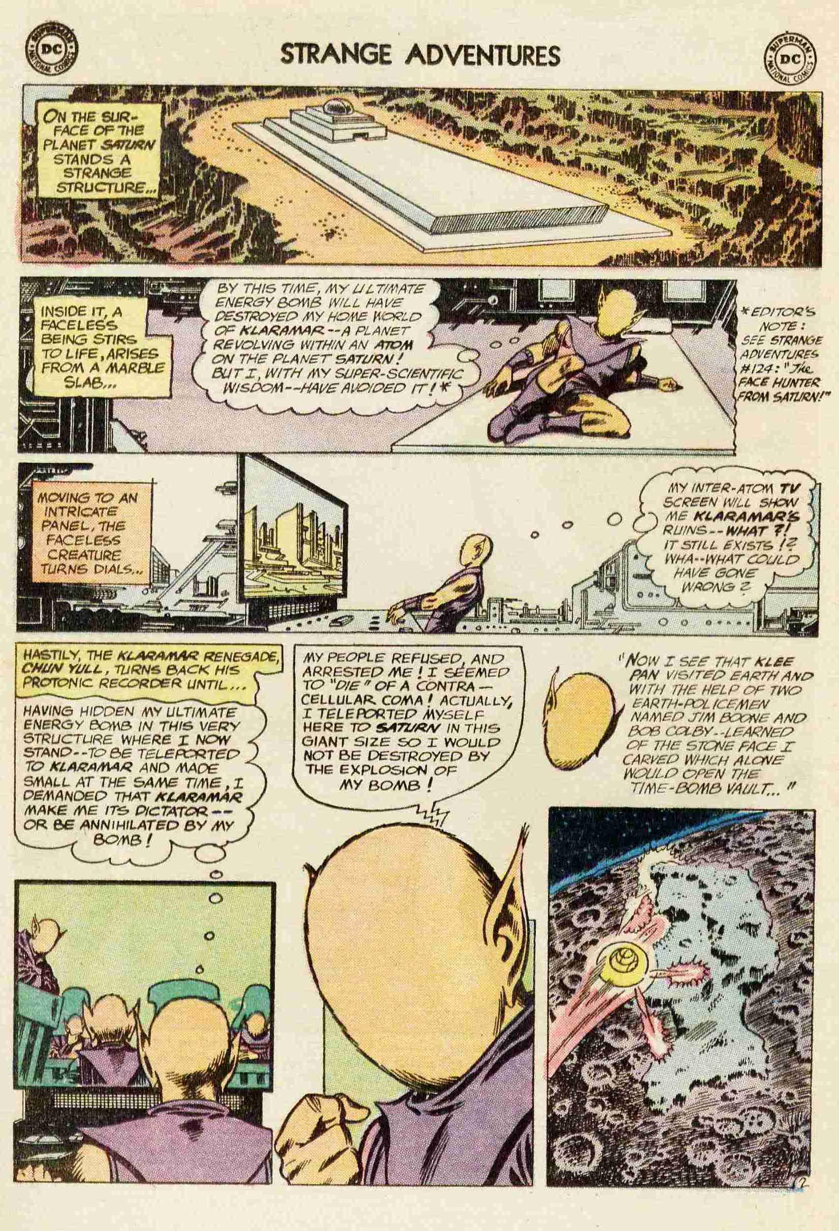 Strange Adventures (1950) issue 142 - Page 4