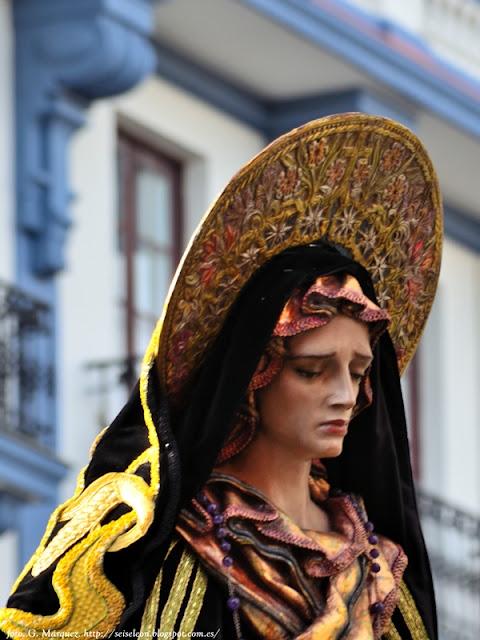 Virgen del Pozo. Cofradía Cristo del Gran Poder. Foto. G. Márquez