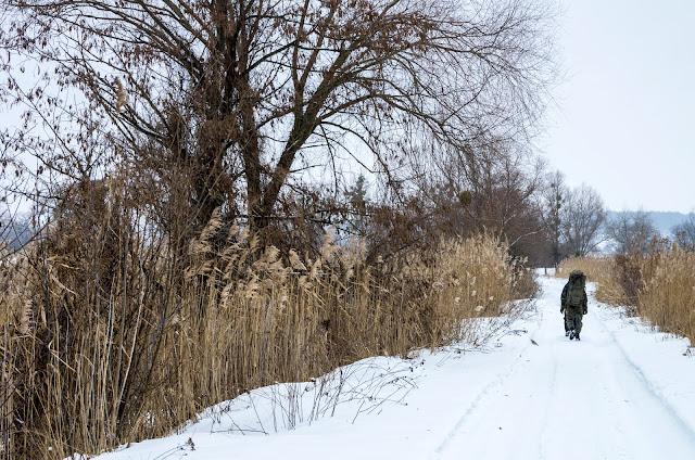 дорога до Сіверського Донця