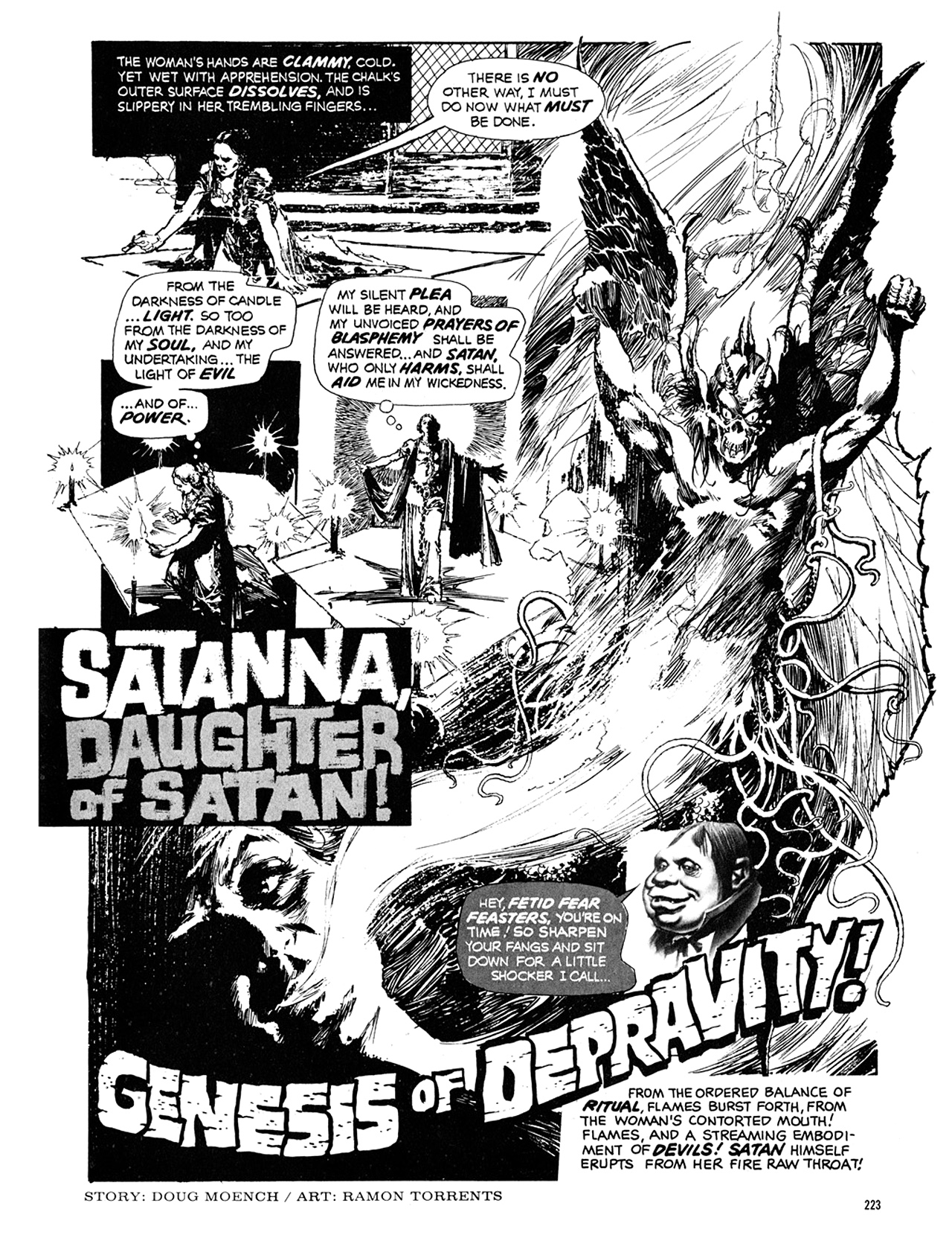 Read online Eerie Archives comic -  Issue # TPB 10 - 224