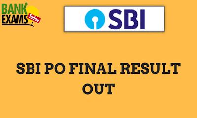 SBI PO Result