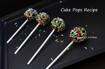 CAKE POPS LOLLIPOP BLACK FOREST CAKE EASY CAKE POPS
