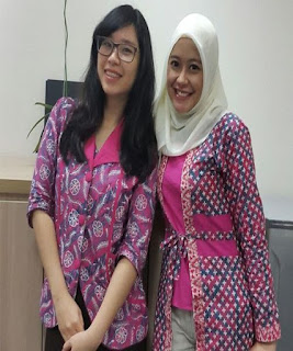 Model Seragam Batik Pegawai Bank Untuk Wanita Terbaru
