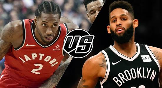 Live Streaming List: Toronto Raptors vs Brooklyn Nets 2018-2019 NBA Season