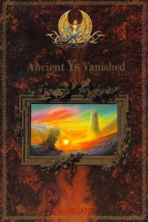 Portada de Ys I: Ancient Ys Vanished para NEC PC-8801, Nihon, 1987