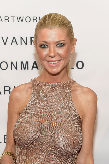 Tara Reid attends the VIP opening reception for Dis-Ease