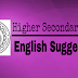 West Bengal Higher Secondary (10+2) Exam 2018 English Suggestion Download | WBCHSE Suggestion