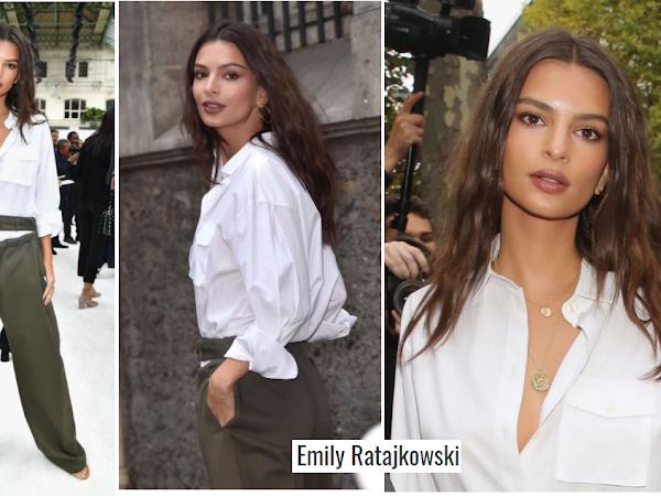Looks no Valentino Fashion Show da semana de moda em paris
