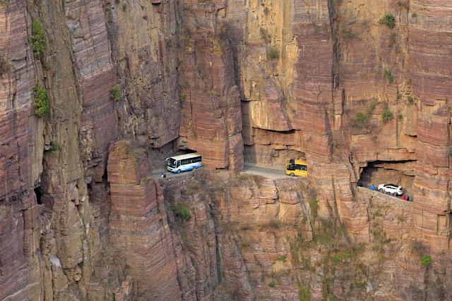 LOOK: 8 Most Dangerous Roads In the World.