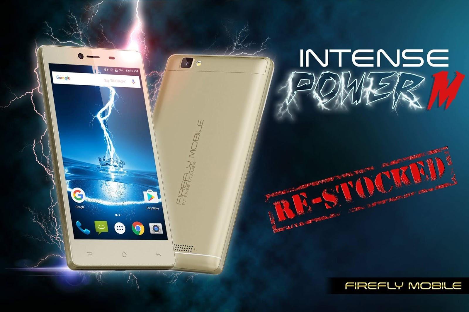 Firefly Mobile Intense Power M Revealed, same Intense Power