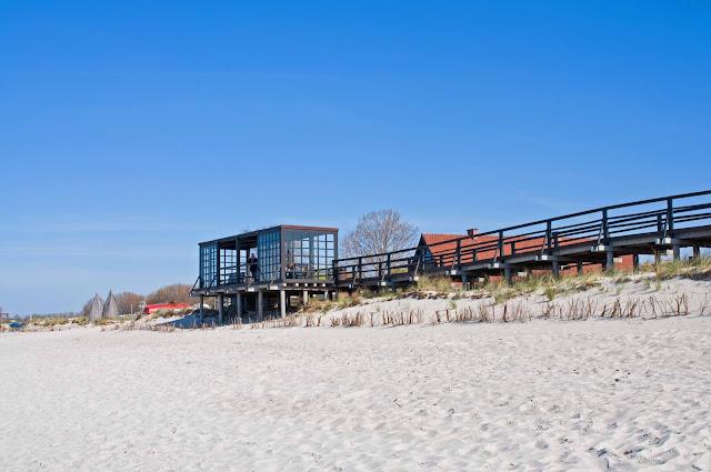 wypoczynek, wakacje na Helu, plaża, morze, miasto