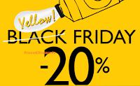 Logo Black Friday L'Occitane: sconto del 20% su tutto e non solo...