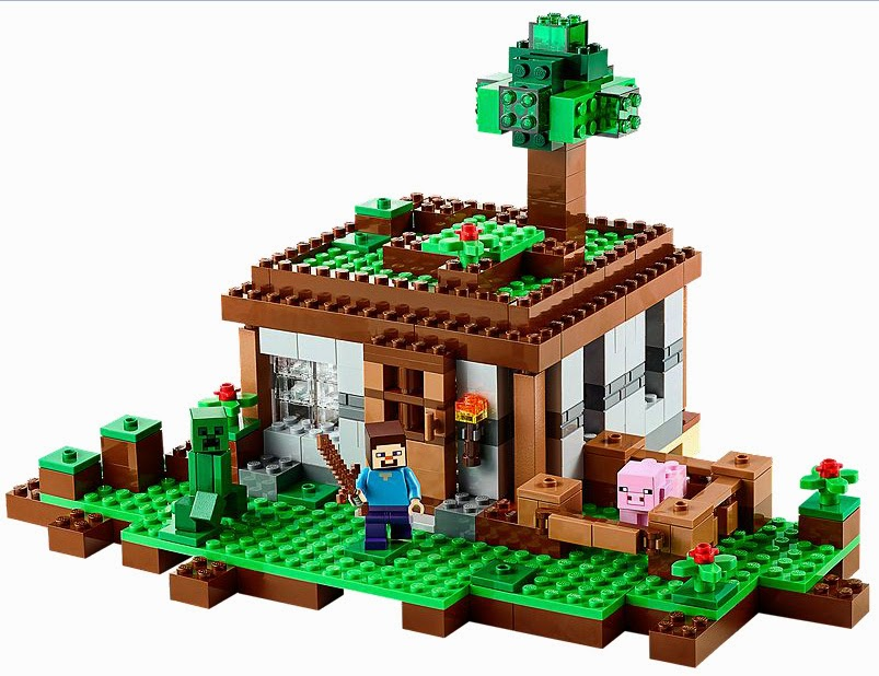 The New LEGO Minecraft sets overview The First Night 21115