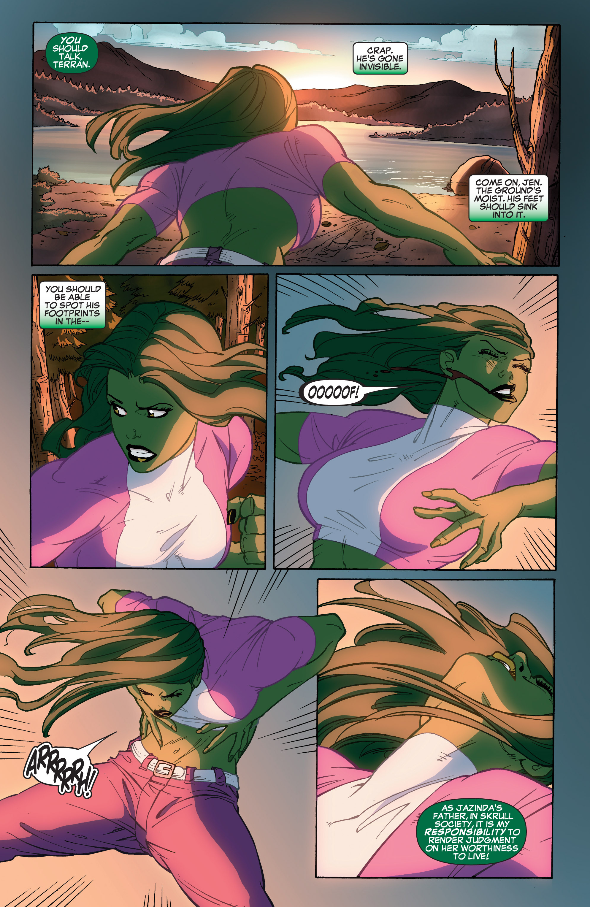 Read online She-Hulk (2005) comic -  Issue #33 - 14