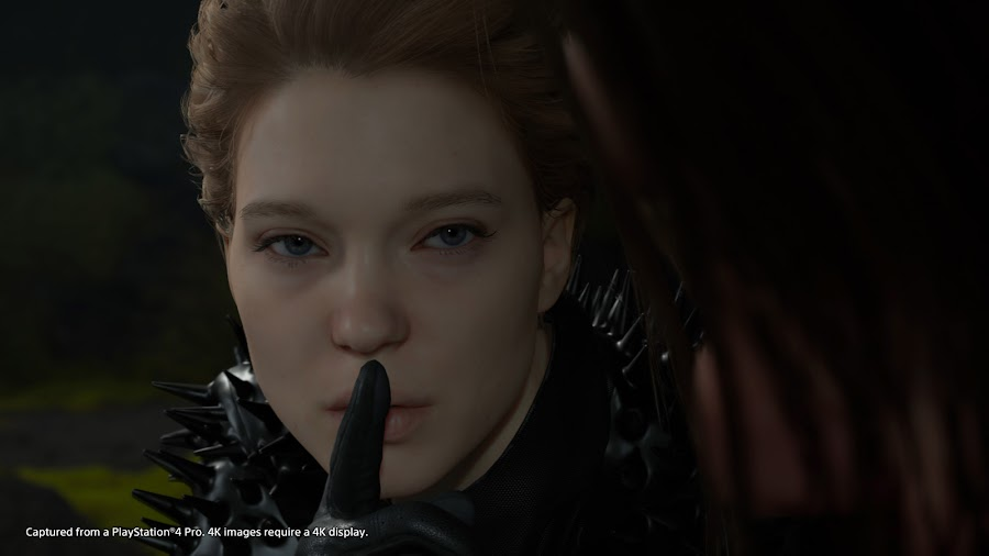 death stranding lea seydoux ps4 gameplay