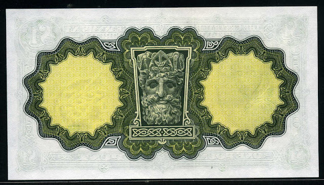 Ireland currency paper money pound Lady Lavery