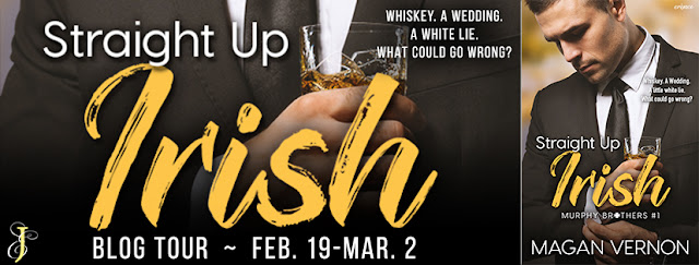 Release Tour: Straight Up Irish by Magan Vernon