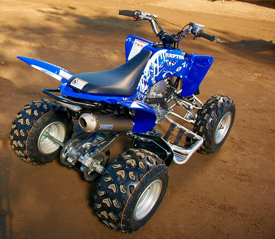 2011 Yamaha Raptor 250r Specifications And Pictures