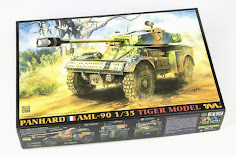 In-Boxed: 1/35th Panhard AML-90 Light Armoured Car from Tiger Model