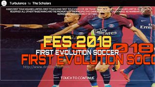 FTS Mod PES 2018 by FBRN PATCH Apk + Data Obb