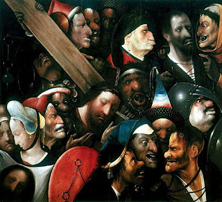 ボス、十字架を担うキリスト、ヘント市立美術館