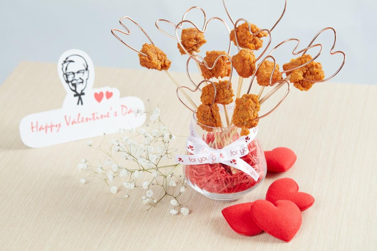 KFC Valentine Zabb ไก่เคเอฟซี ของขวัญวาเลนไทน์  ให้ไก่ทอดเป็นของขวัญ