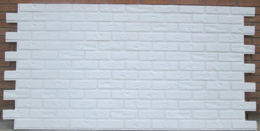 Comercios valencia oferta paneles decorativos paneldeco ladrillo bristol xl blanco total - Paneles decorativos de poliuretano ...